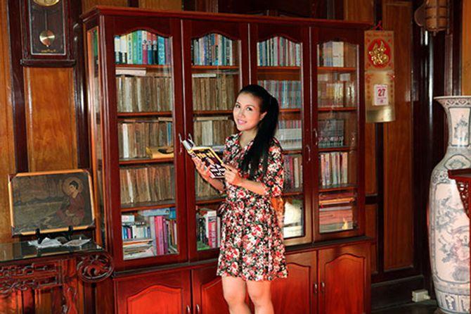 Ngắm ngôi nhà bằng gỗ nghìn m2 giá bạc tỷ của Thùy Dương - Ảnh 14