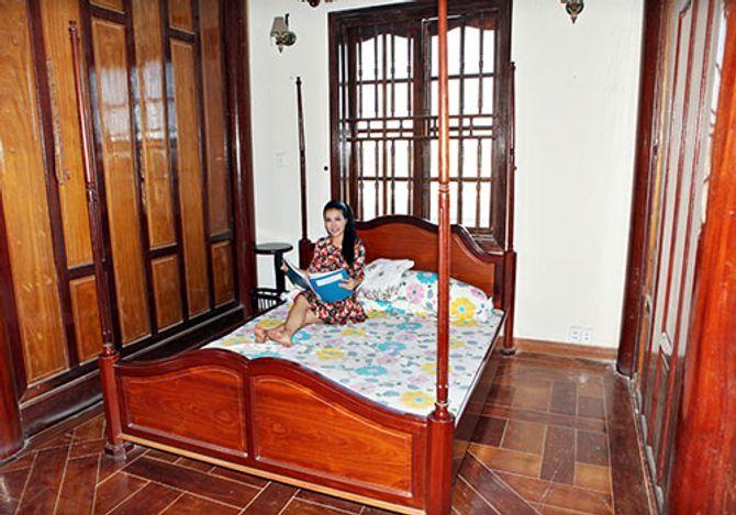 Ngắm ngôi nhà bằng gỗ nghìn m2 giá bạc tỷ của Thùy Dương - Ảnh 16
