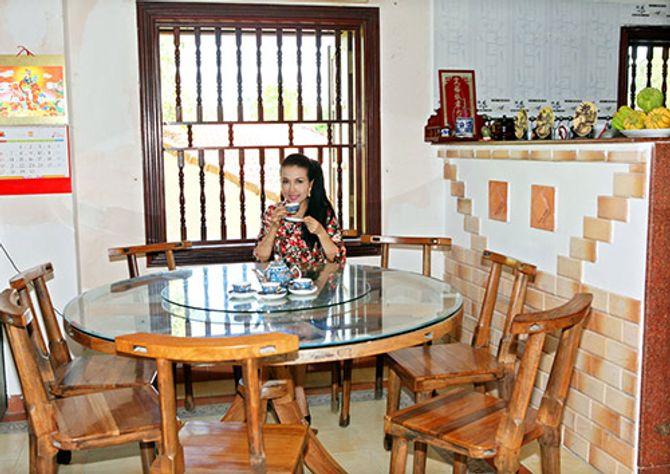 Ngắm ngôi nhà bằng gỗ nghìn m2 giá bạc tỷ của Thùy Dương - Ảnh 17