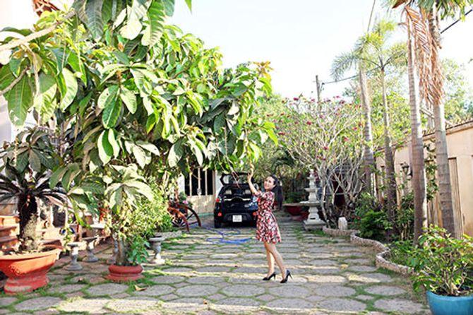 Ngắm ngôi nhà bằng gỗ nghìn m2 giá bạc tỷ của Thùy Dương - Ảnh 5