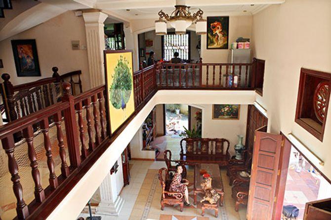 Ngắm ngôi nhà bằng gỗ nghìn m2 giá bạc tỷ của Thùy Dương - Ảnh 7