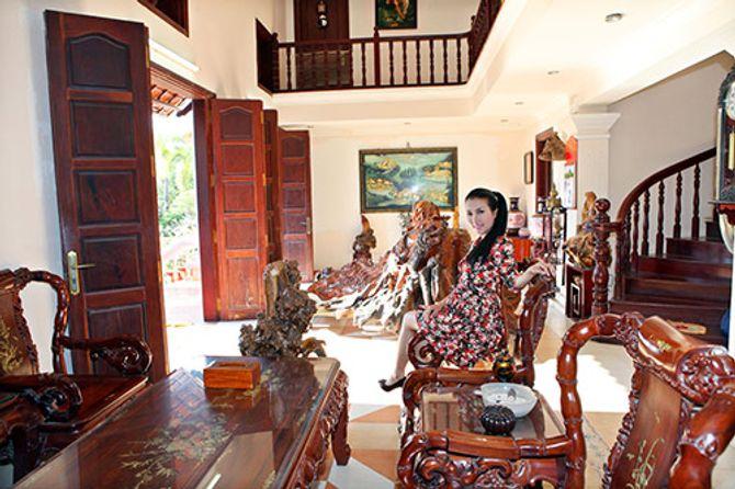 Ngắm ngôi nhà bằng gỗ nghìn m2 giá bạc tỷ của Thùy Dương - Ảnh 8