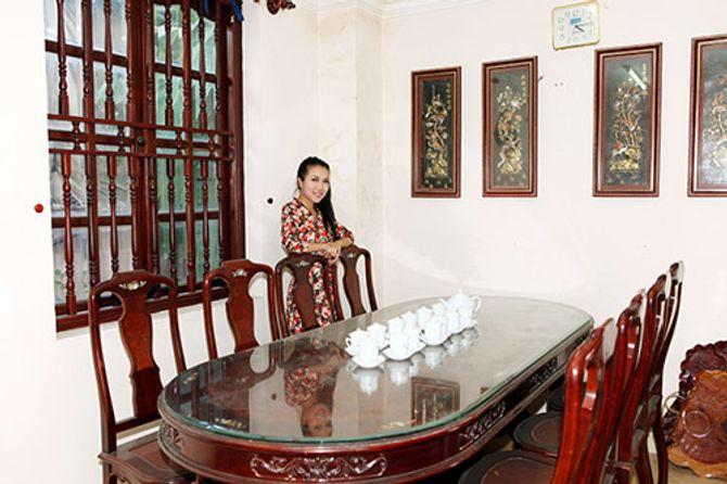 Ngắm ngôi nhà bằng gỗ nghìn m2 giá bạc tỷ của Thùy Dương - Ảnh 10
