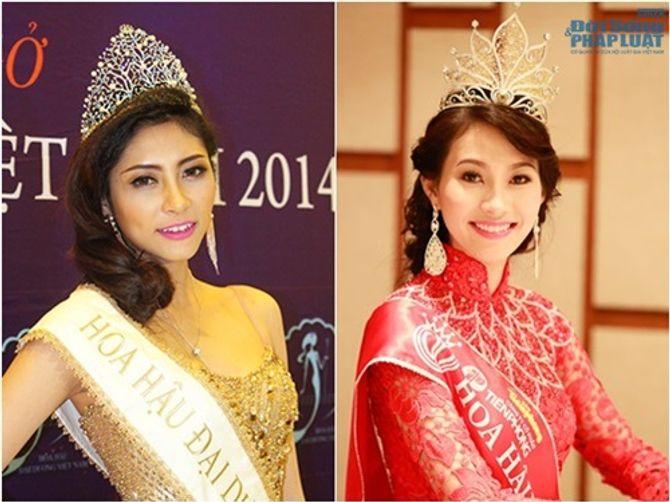 So sánh nhan sắc hai Hoa hậu cùng tên Đặng Thu Thảo - Ảnh 1