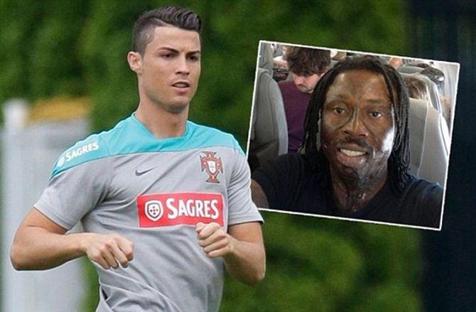 Ronaldo mất World Cup 2014 do bị thù thủy yểm bùa? - Ảnh 1