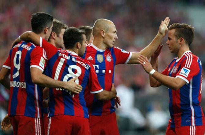 Robben chói sáng, Bayern thắng dễ Wolfsburg ngày khai mạc