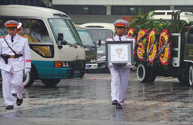 Lễ tang Thượng tướng Phạm Quý Ngọ tại Nhà Tang lễ Quốc gia - Ảnh 15