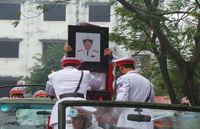 Lễ tang Thượng tướng Phạm Quý Ngọ tại Nhà Tang lễ Quốc gia - Ảnh 16