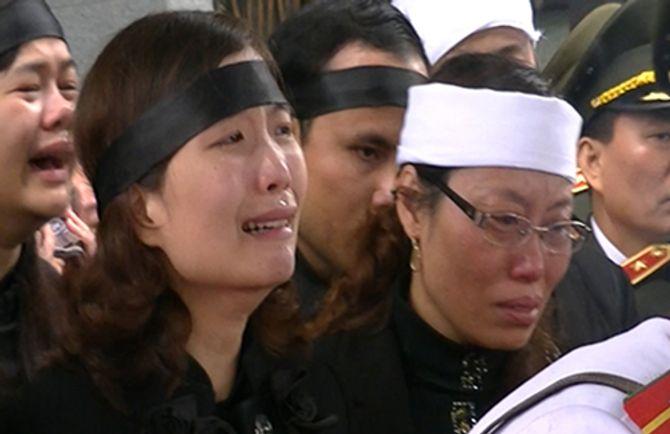 Lễ tang Thượng tướng Phạm Quý Ngọ tại Nhà Tang lễ Quốc gia - Ảnh 14
