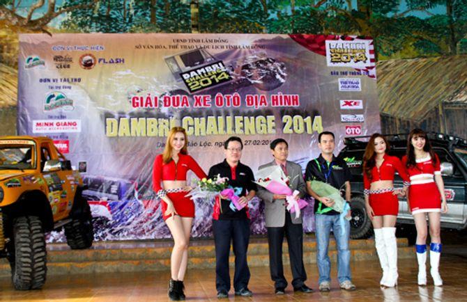 Giải đua xe địa hình Dambri Challenge 2014 chính thức khai màn - Ảnh 1