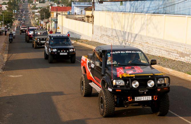 Giải đua xe địa hình Dambri Challenge 2014 chính thức khai màn - Ảnh 2