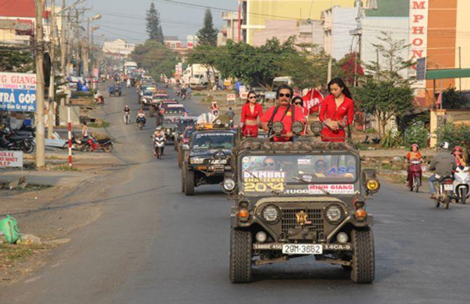 Giải đua xe địa hình Dambri Challenge 2014 chính thức khai màn - Ảnh 3