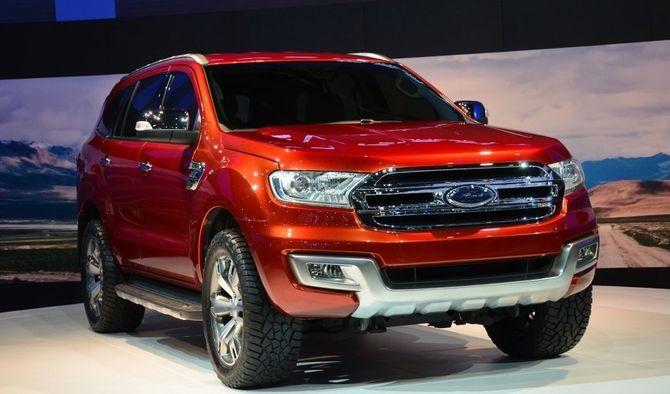 Bangkok Motor Show 2014: Ford Everest hoàn toàn mới sắp xuất hiện - Ảnh 1