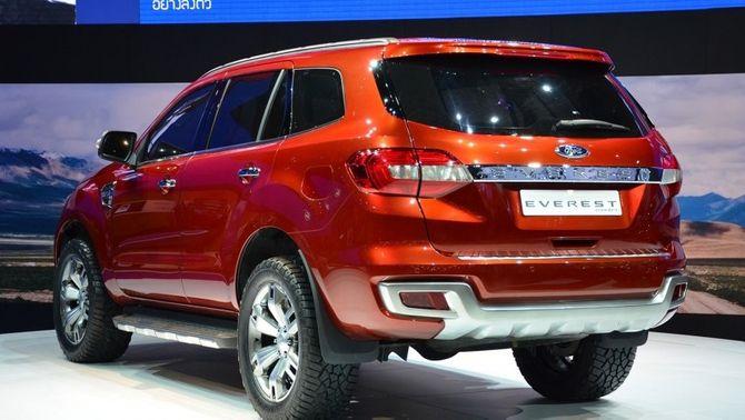 Bangkok Motor Show 2014: Ford Everest hoàn toàn mới sắp xuất hiện - Ảnh 2