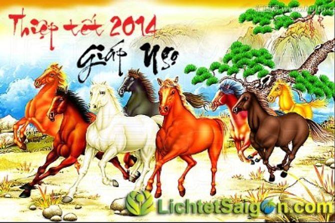Những tấm thiệp chúc mừng năm mới 2014 đẹp lung linh - Ảnh 10