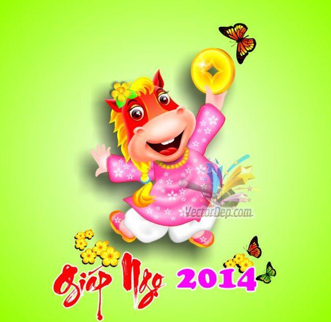 Những tấm thiệp chúc mừng năm mới 2014 đẹp lung linh - Ảnh 13