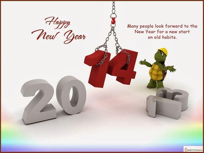Những tấm thiệp chúc mừng năm mới 2014 đẹp lung linh - Ảnh 4