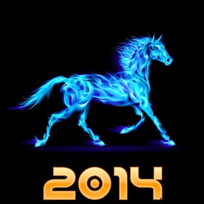 Những tấm thiệp chúc mừng năm mới 2014 đẹp lung linh - Ảnh 2