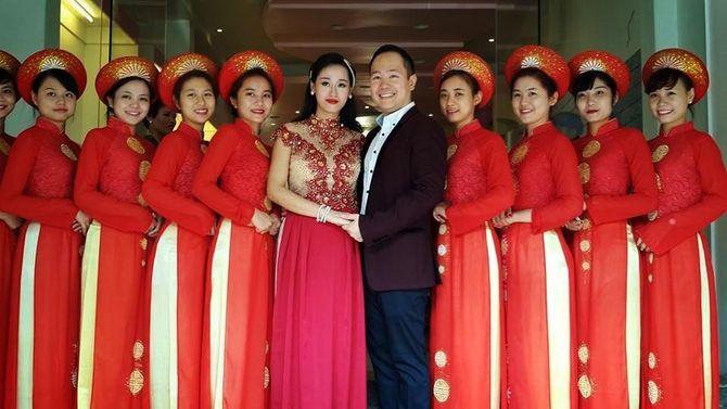 Ảnh cưới đẹp lung linh của cháu nội Đại tướng Võ Nguyên Giáp - Ảnh 2
