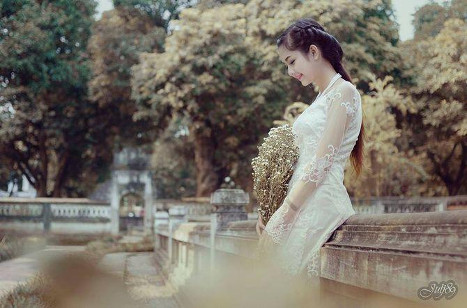 Gặp nữ sinh xứ Tuyên có gương mặt giống BTV Hoài Anh - Ảnh 11