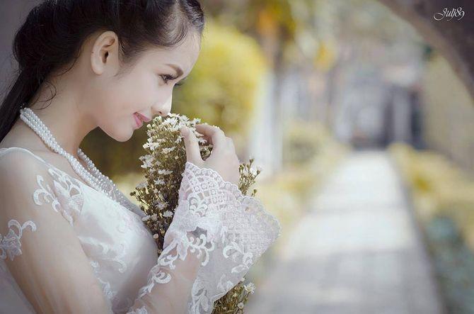 Gặp nữ sinh xứ Tuyên có gương mặt giống BTV Hoài Anh - Ảnh 10
