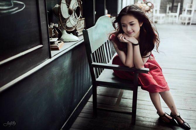 Gặp nữ sinh xứ Tuyên có gương mặt giống BTV Hoài Anh - Ảnh 9