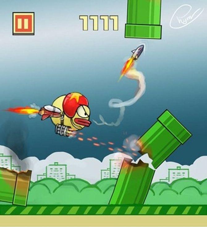 """Hài hước ảnh chế """"sự tức giận"""" của người chơi Flappy Bird  - Ảnh 8"""