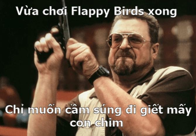 """Hài hước ảnh chế """"sự tức giận"""" của người chơi Flappy Bird  - Ảnh 12"""