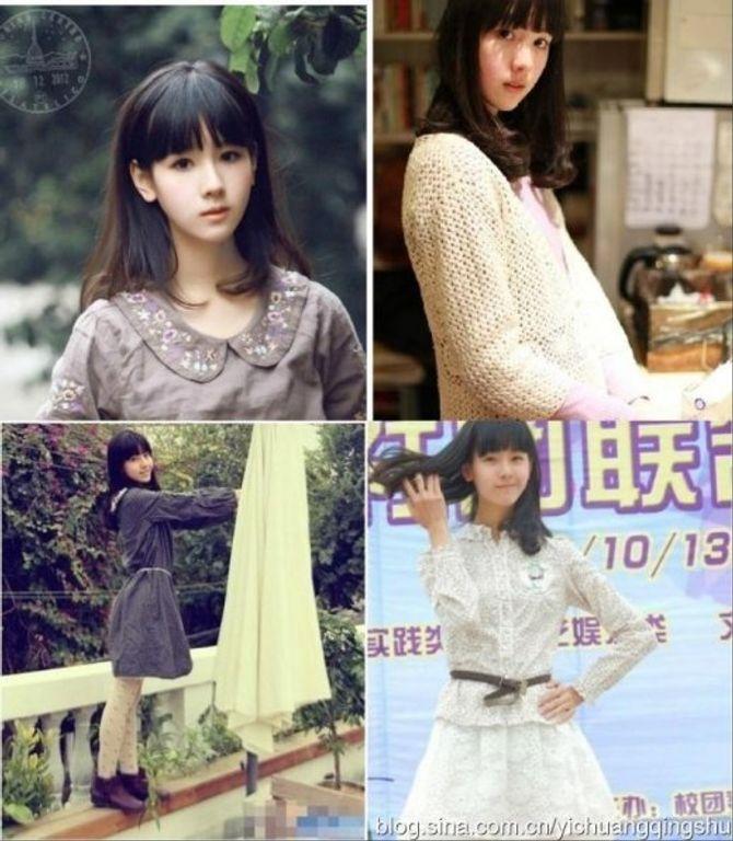 10 hot girl đẹp như thiên thần nổi tiếng nhất Trung Quốc
