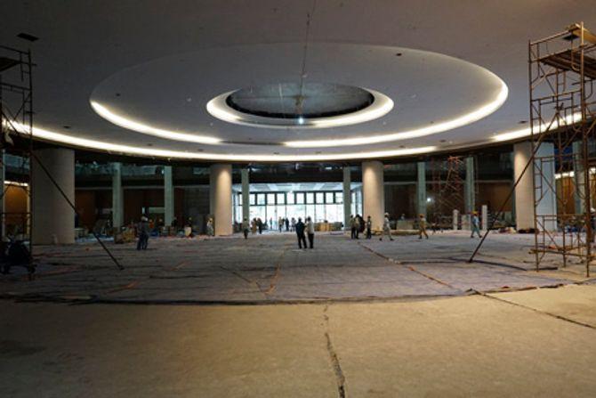 Cận cảnh Nhà Quốc hội mới trước giờ cán đích - Ảnh 11