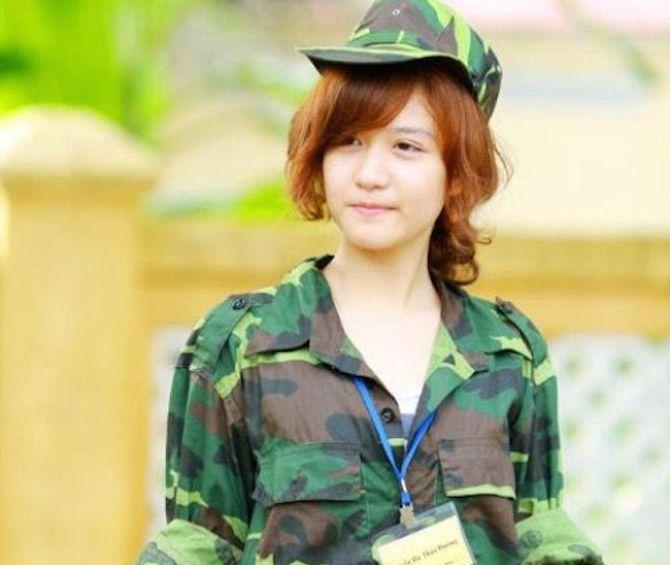 Ngắm không mỏi mắt nhan sắc hot girl mặt mộc Thảo Hương