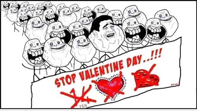 """Ảnh chế hài hước """"Valentine của hội FA"""" - Ảnh 6"""