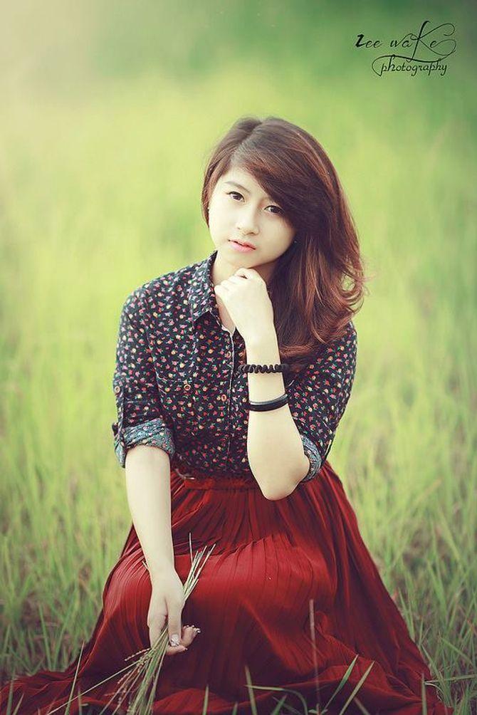 Ngắm cô nàng 9X Việt Nam xinh hơn cả diễn viên Hàn Quốc - Ảnh 1