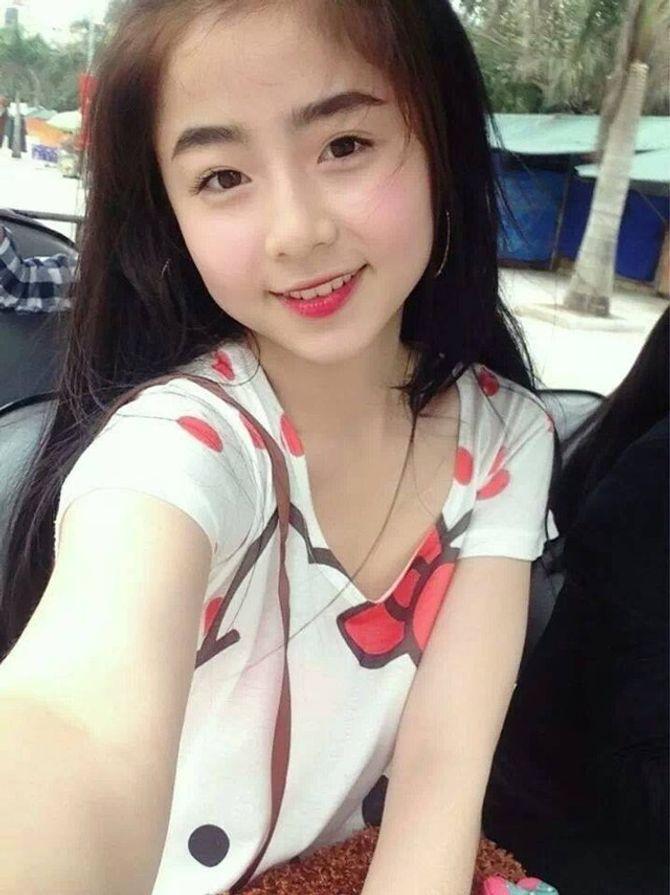 Hot girl Thanh Hóa xinh như thiên thần gây sốt - Ảnh 1