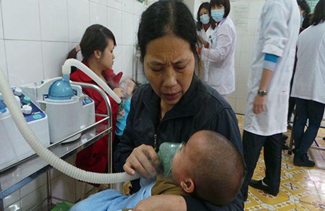 Hơn 90% trẻ bị sởi chưa được tiêm phòng vắc xin sởi - Ảnh 1