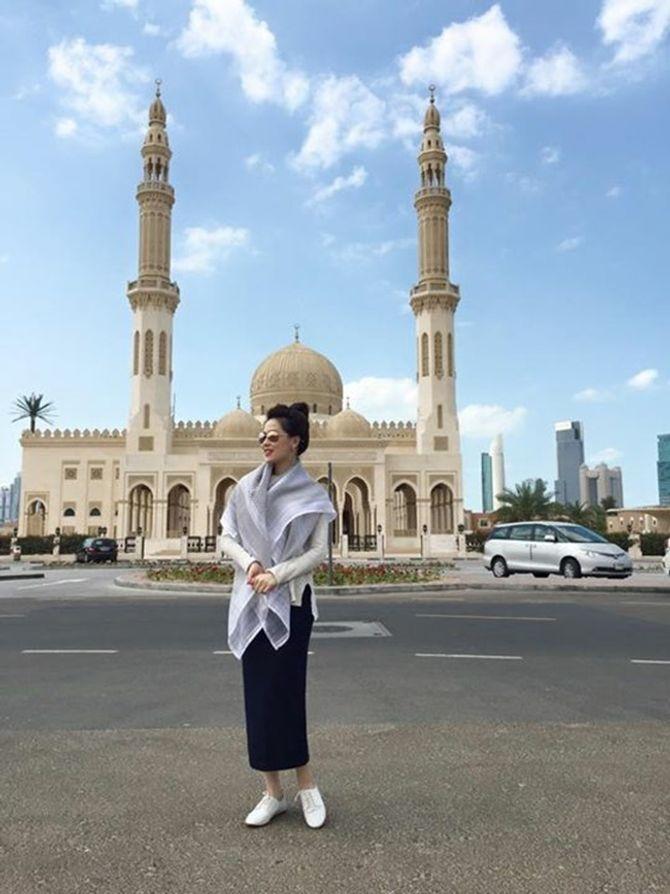 Á hậu Thái Như Ngọc xinh đẹp khoe ảnh du xuân ở Dubai - Ảnh 9