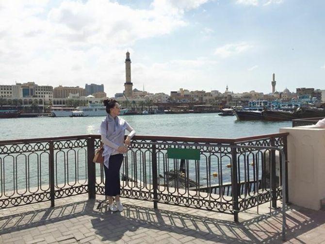 Á hậu Thái Như Ngọc xinh đẹp khoe ảnh du xuân ở Dubai - Ảnh 3