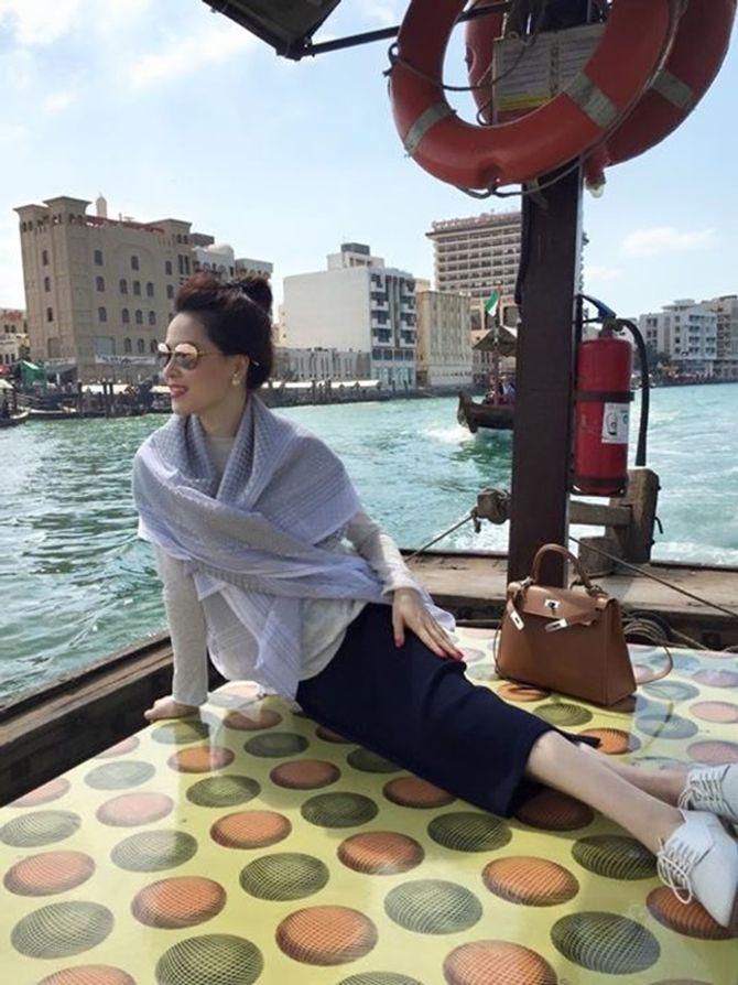 Á hậu Thái Như Ngọc xinh đẹp khoe ảnh du xuân ở Dubai - Ảnh 2