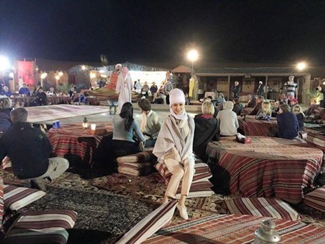 Á hậu Thái Như Ngọc xinh đẹp khoe ảnh du xuân ở Dubai - Ảnh 4