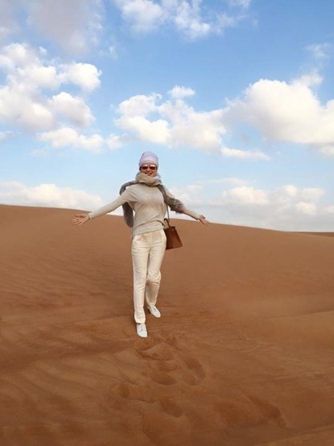 Á hậu Thái Như Ngọc xinh đẹp khoe ảnh du xuân ở Dubai - Ảnh 5