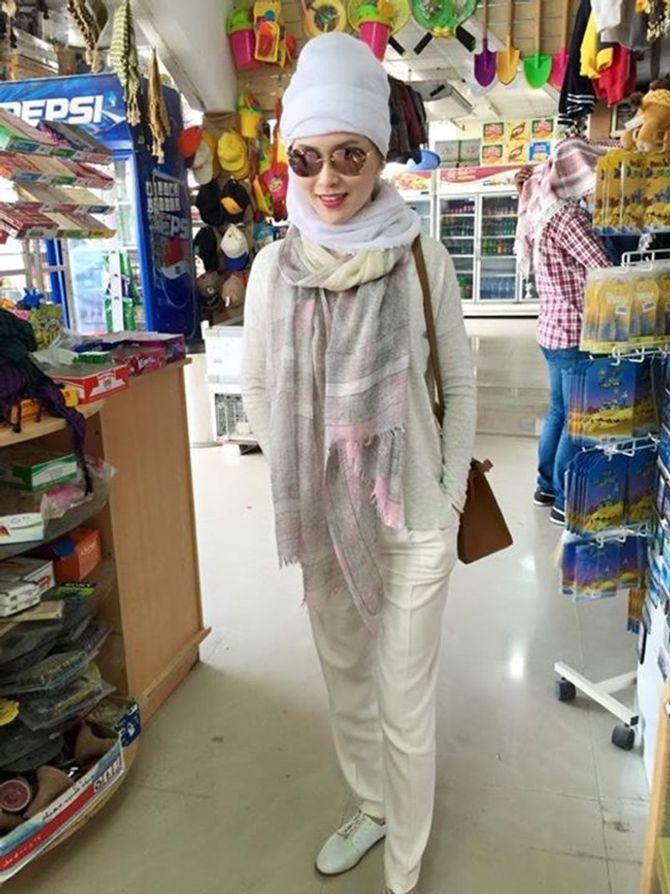 Á hậu Thái Như Ngọc xinh đẹp khoe ảnh du xuân ở Dubai - Ảnh 7