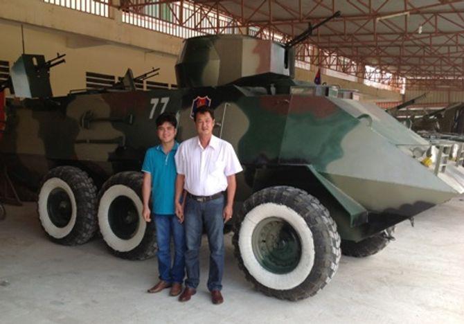 Bộ trưởng KH&CN nói gì về 'hai lúa' chế xe bọc thép? 4