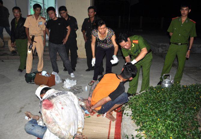 Bình Thuận: Giải quyết mâu thuẫn đá gà bằng súng - Ảnh 1