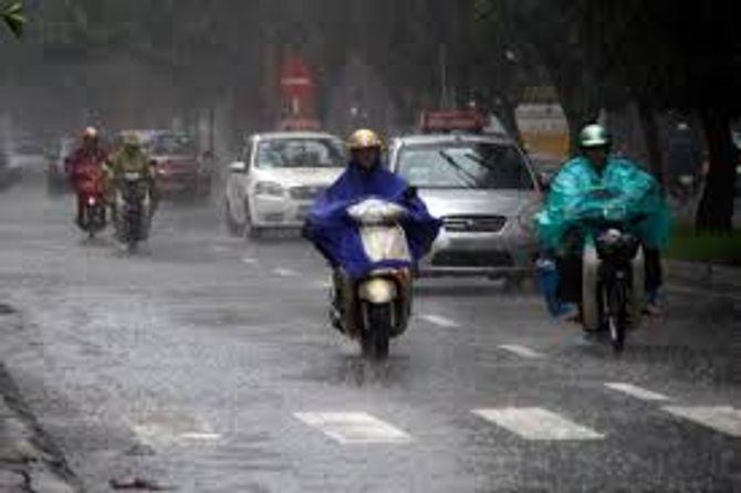 Thời tiết ngày 1/3: Không khí lạnh gây mưa rào ở Bắc Bộ 1