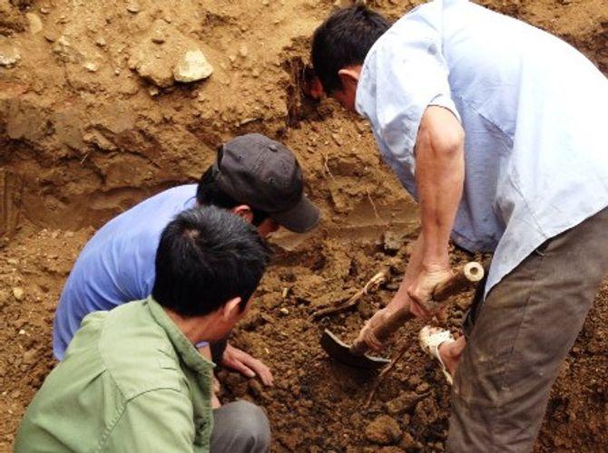 Hãi hùng đào móng nhà, tìm thấy 11 bộ xương - Ảnh 2