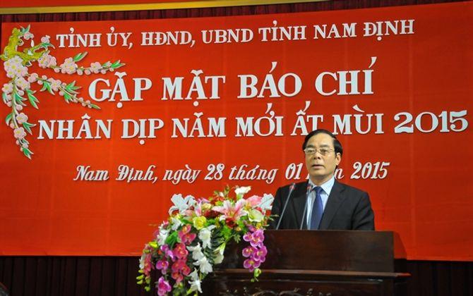 Ông Nguyễn Khắc Hưng làm Bí thư Tỉnh ủy Nam Định 1