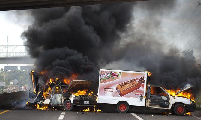 Hình ảnh  tự vệ chống các băng đảng ma túy ở  Mexico - Ảnh 4