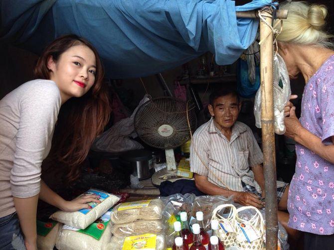 Chuyện về nữ doanh nhân xinh đẹp làm từ thiện ở chùa Bồ Đề - Ảnh 6