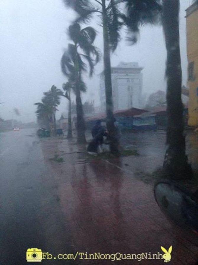 Tin bão số 3 liên tục được cư dân mạng vùng tâm bão cập nhật