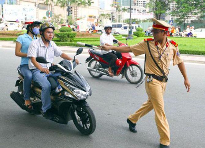 05 đối tượng được quyền xử phạt trong giao thông đường bộ